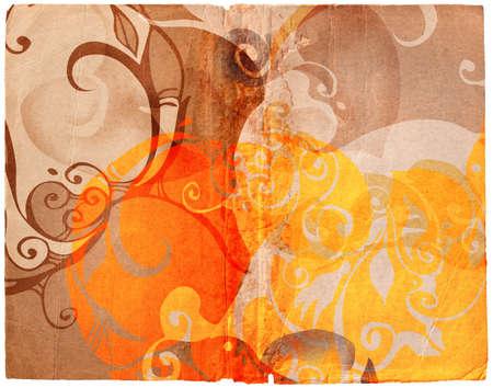 book spread with complex swirl designs