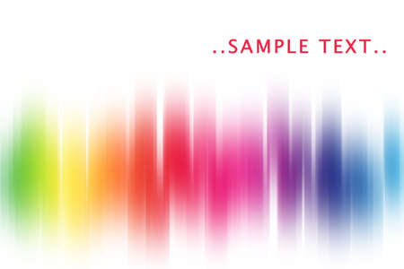 rainbow glow abstract background
