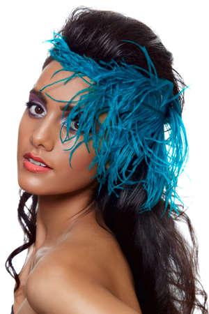 beautiful brunette woman Stock Photo - 9156633
