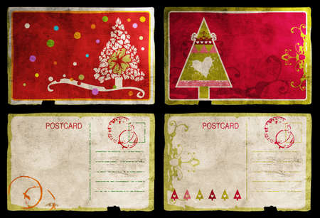 Cartes de Noël ensemble Banque d'images - 10645843
