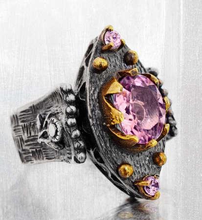 antique jewelry: Antique Ottoman turkish ring