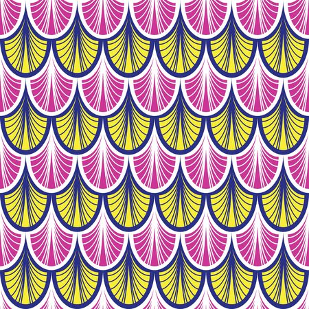 art deco colorful seamless pattern