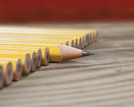 One sharp pencil macro Stock fotó