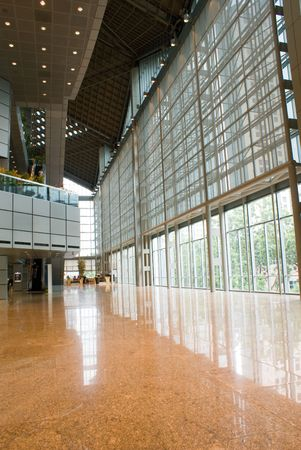 inter design of the floor and window in a modern building Stock Photo - 3345325