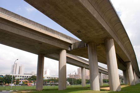 シンガポール大量高速輸送の近代的な鉄道