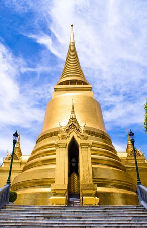 Famous travel destination of thailand grand palace