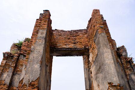 collapsed: Thailand previous capital city historical landmark nearby bangkok