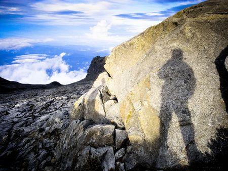 東南アジアで最も高い山からの眺め 写真素材