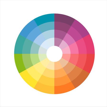 rainbow color: color wheel