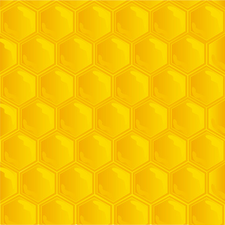 honeycombs texture Vector