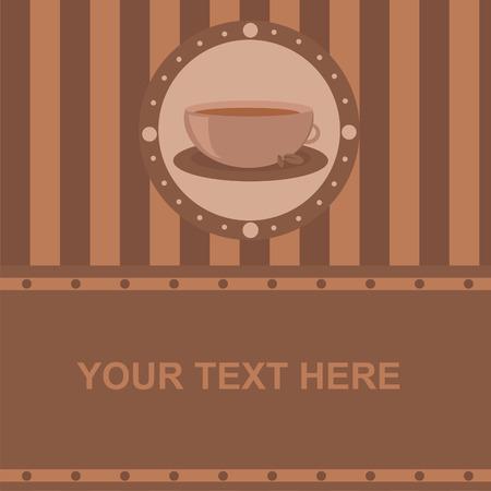 cute coffee frame