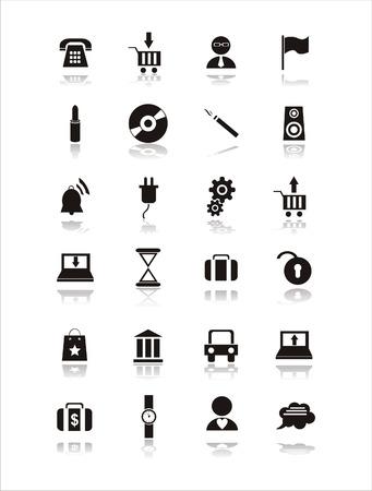 phone money: conjunto de signos de web negro 21