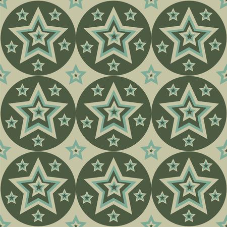 cute stars pattern Vector