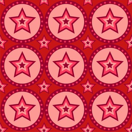 cute star pattern Vector