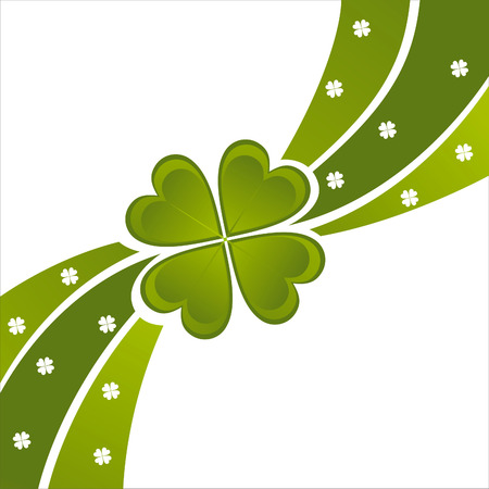 st. patrick's day background Stock Vector - 8679288