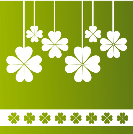 st. patrick's day background Stock Vector - 8709341