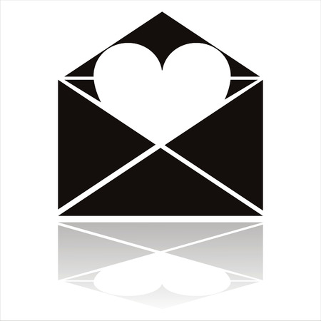 love letter icon Stock Vector - 8709326