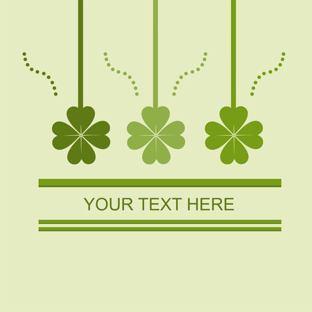 cute st. patrick's day card Stock Vector - 8755943