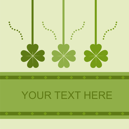 cute st. patrick's day card Stock Vector - 8777873