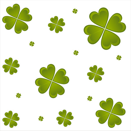 glossy st. patrick's day pattern Stock Vector - 8777892