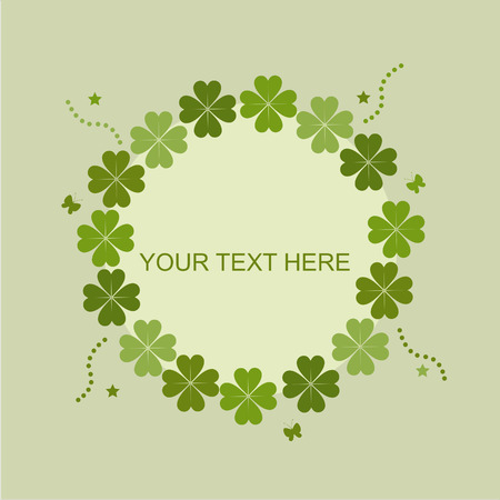 cute st. patrick's day card Stock Vector - 8777904