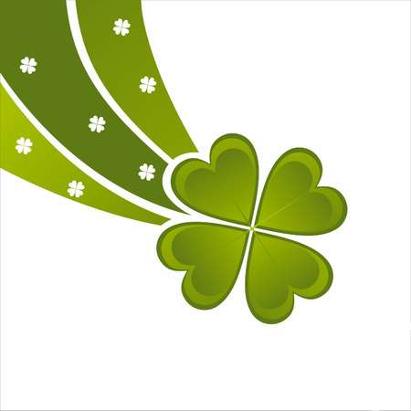 glossy st. patrick's day background Stock Vector - 8777908