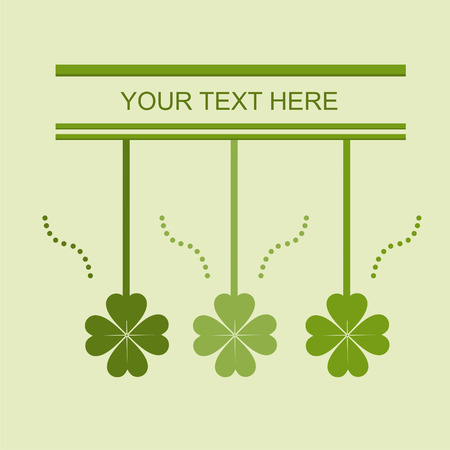 cute st. patrick's day card Stock Vector - 8837658