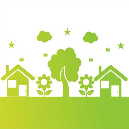 ecological illustration Stock Vector - 8837672