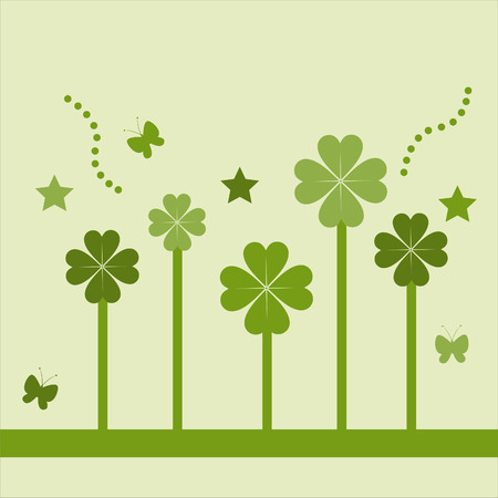 cute st. patrick's day card Stock Vector - 8906611