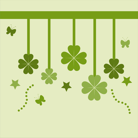 cute st. patrick's day card Stock Vector - 8931051