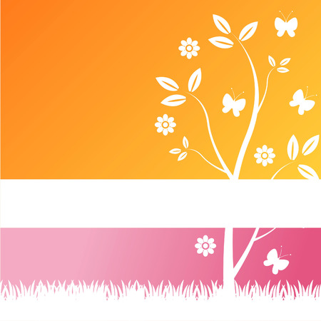 modern nature background Stock Vector - 8941540