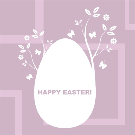 stylish easter background Vector