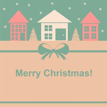 cute christmas card Stock Vector - 11020874