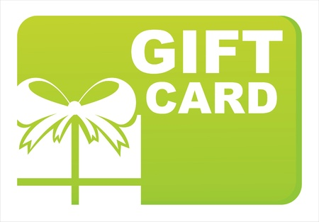green gift card Vector