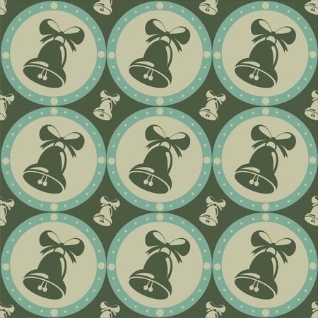 cute christmas bells pattern