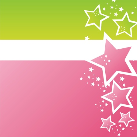 colorful abstract stars background Illustration