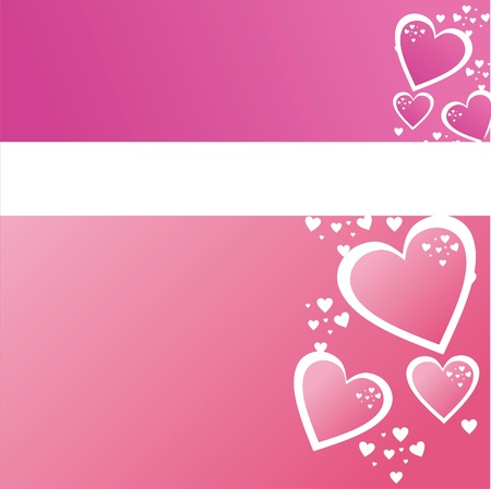 colorful st. valentines day background