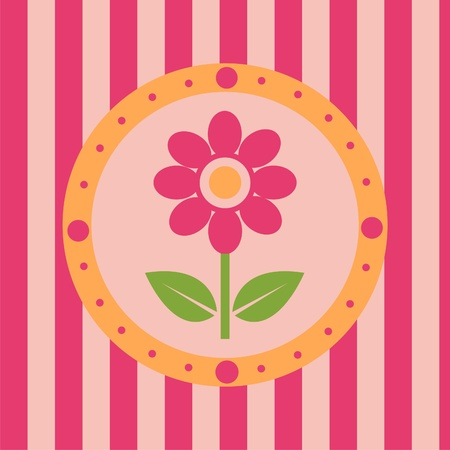 cute colorful flowers background