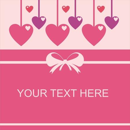 cute st. valentine day card