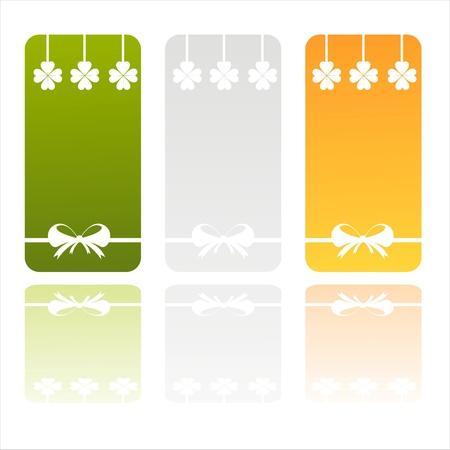 set of 3 irish banners Stock Vector - 12056038