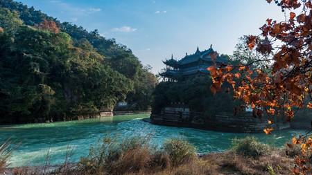 Dujiangyan scenery