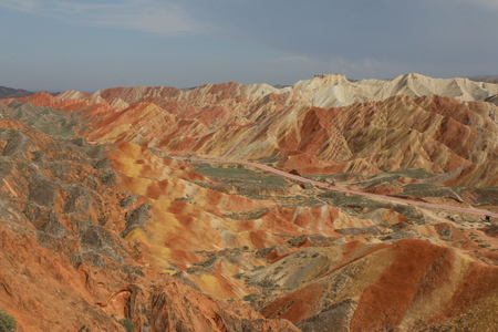 Danxia land form nature scenery view