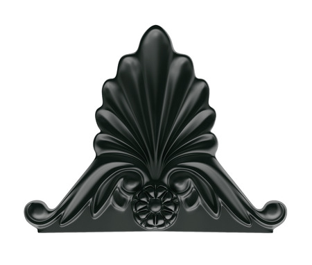 cast iron: a decorative element in the Empire style of cast iron