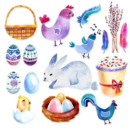 orthodoxy: watercolor Easter set
