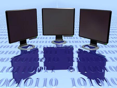 renderfarm: Lcd Monitor vol 3