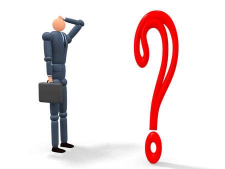 Question mark v1 Stock Photo - 9458862