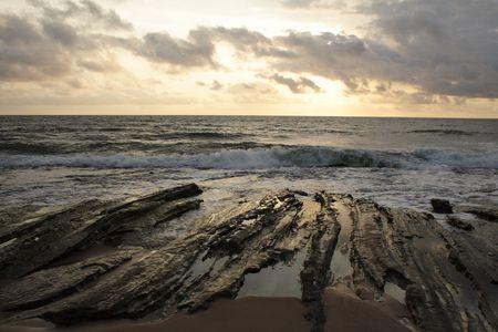 gabon: Gabon sunset
