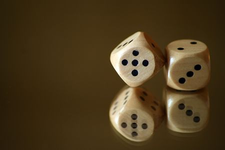2 white dice