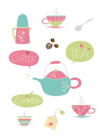 Tea and coffee items
