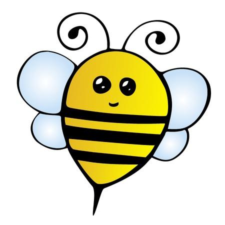 Cute Bee Illustration